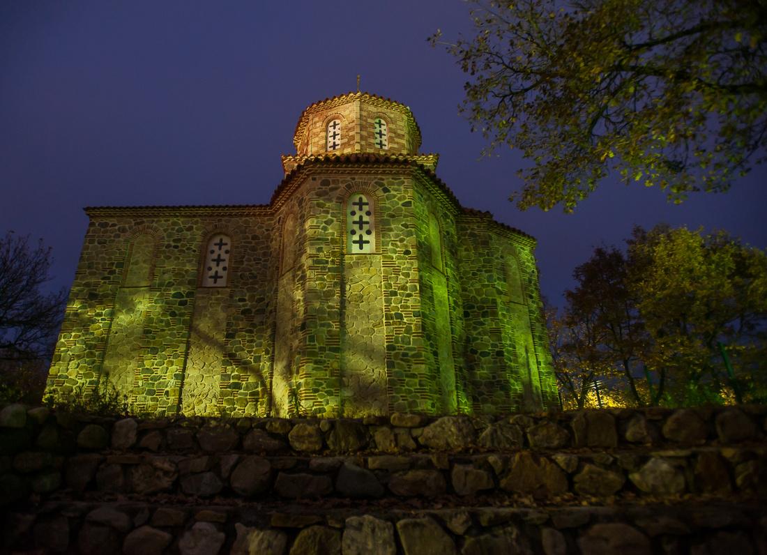 Monastry church in Novo Selo